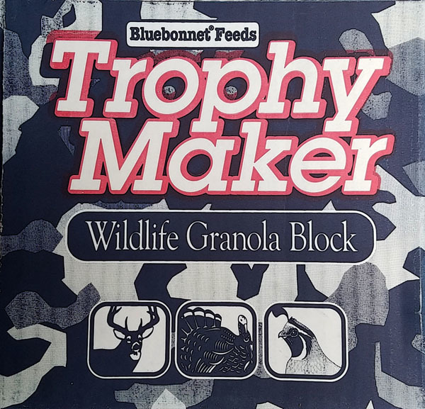 Trophy Maker Wildlife Granola Block
